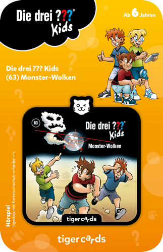 tigercard - Die drei ??? Kids (63): Monster Wolken